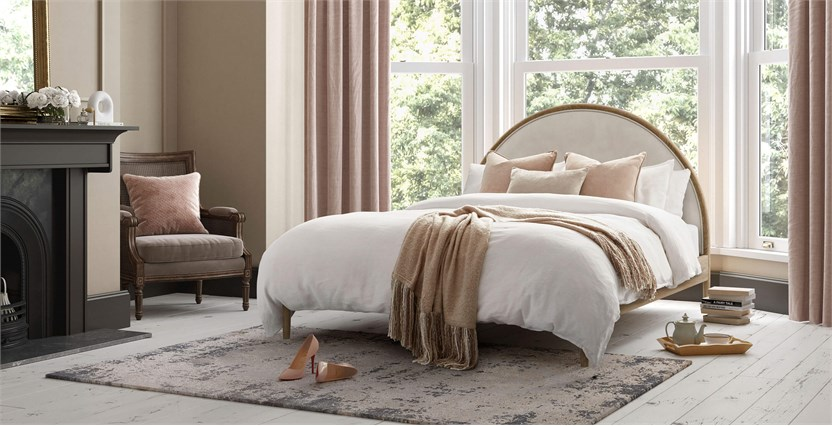 Aubrey Half Moon Bed