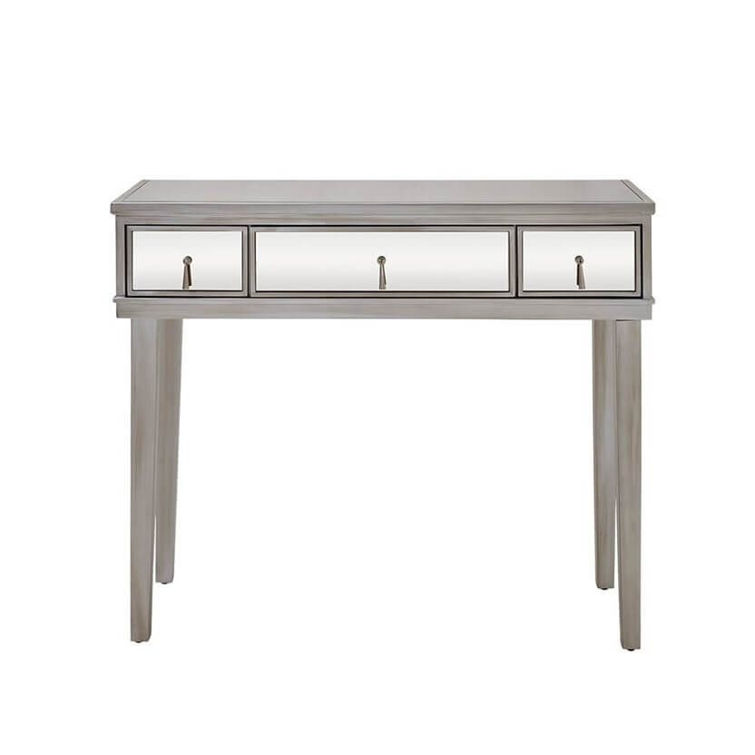 Gatsby Mirrored Silver Console Table