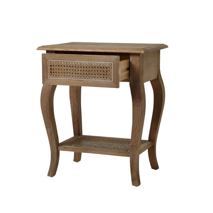 Sienna Rattan Bedside Table